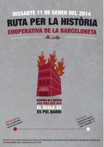 Ruta per la Barceloneta cooperativa i indignada