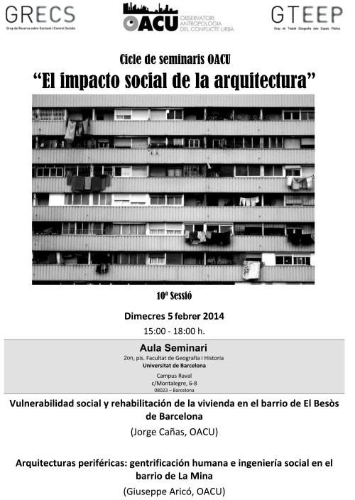 Seminari Arquitectura(10ªSessió). 5.2.14