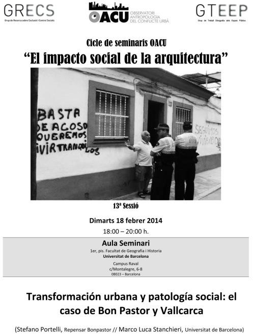 Seminari Arquitectura(13ªSessió). 18.2.14