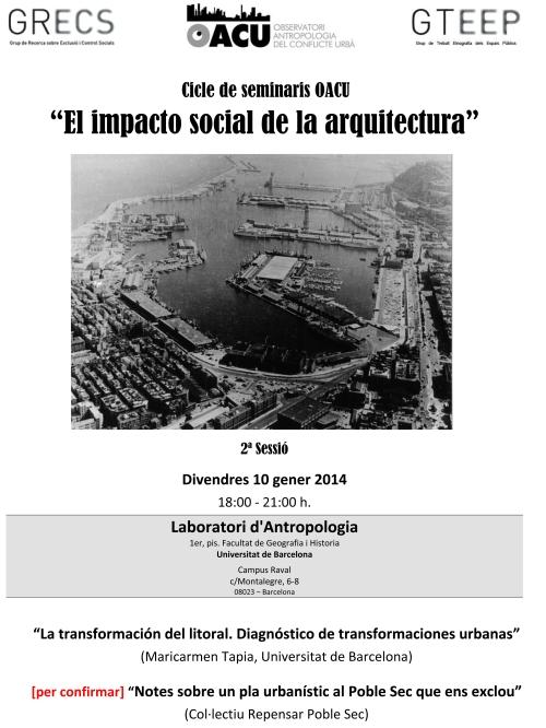 Seminari Arquitectura(2ªSessió) 10.1.14