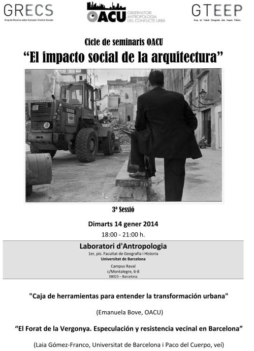 Seminari Arquitectura(3ªSessió). 14.1.14