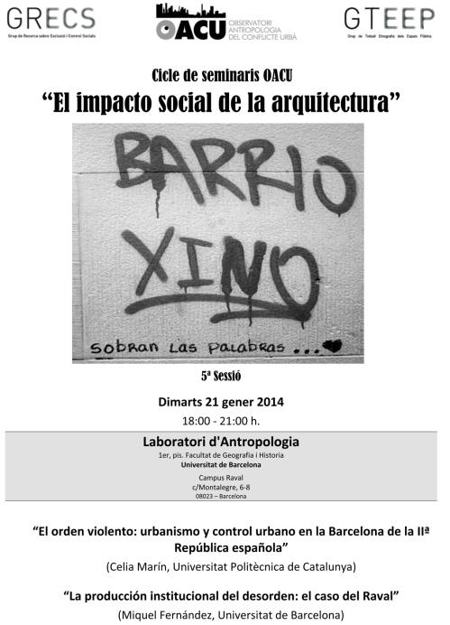 Seminari Arquitectura(5ªSessió). 21.1.14