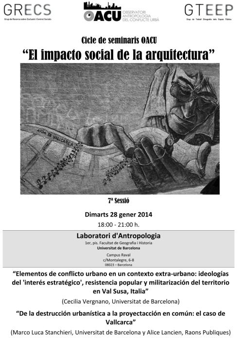 Seminari Arquitectura(7ªSessió). 28.1.14