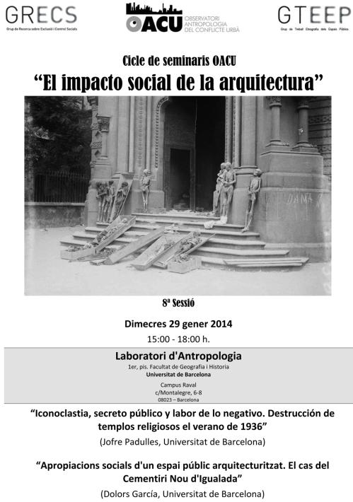 Seminari Arquitectura(8ªSessió). 29.1.14
