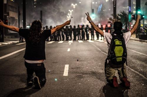 (10)BRASIL-SAO PAULO-SOCIEDAD-PROTESTA