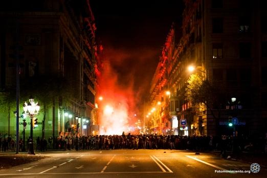 Vaga general de Barcelona en 2012 | Fuente: http://fotomovimiento.org/