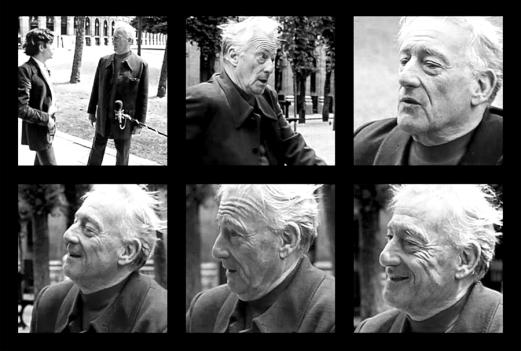 Henri Lefebvre durante el rodaje del programa Urbanose en 1972 | Fuente: http://ppesydney.net/