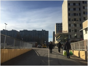 Malmvägen, Barrio miljonprogrammet Estocolmo: Foto: Karina Raña