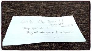 La nota de Edward
